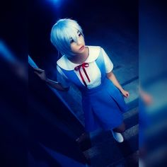 Photography cosplay rei ayanami #cosplay #cosplayer #reiayanami #rei #ayanami #hakicosplay #evangelion