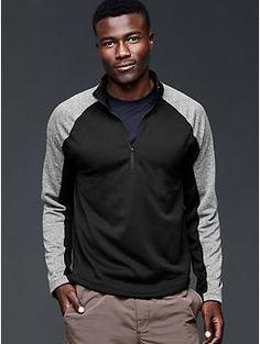 Urban Active colorblock half-zip pullover | Gap