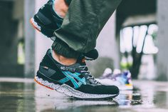 Just in time for the colder months ahead, ASICS drops two new iterations of its iconic GEL-Lyte V silhouette in waterproof GORE-TEX materials. Both of the models feature a bolstered mesh and synthetic. Asics Tiger Gel Lyte, Asics Gel Lyte Iii, Adidas Shoes Outlet, Site Nike, Custom Sneakers, Gore Tex, Cheap Shoes, Clothes Horse, What I Wore