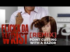Sam Villa Flicka Da Wrist [REMIX] Point Cutting With a Razor - YouTube
