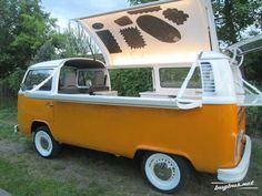 Resultat d'imatges de volkswagen california food truck