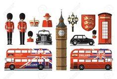 Resultado de imagen de símbolos de Londres