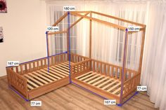 Toddler house beds with slats Montessori bed. & Etsy Toddler house beds with slats Montessori bed. & Etsy The post Toddler house beds with slats Montessori bed. Baby Bedroom, Girls Bedroom, Bedroom Decor, Room Girls, Childs Bedroom, Kid Bedrooms, Nursery Room, Nursery Decor, Toddler House Bed