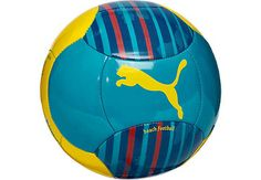 Puma Beach Football - Blue and Yellow...it can be yours today! Get it from www.soccerpro.com right now!