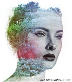 Jill Greenberg is an internationally renowned artist and photographer whose lighting and portraits are instantly recognizable. Surrealism Photography, Art Photography, Jill Greenberg, Imagination Art, Double Exposure Photography, Contemporary Photography, Photo Effects, Ink Color, Collage Art