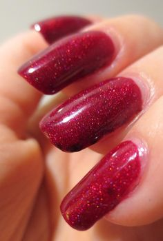 Galactic Lacquer: Pretty & Polished - Happy Holodays