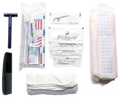 Emergency Personal Hygiene Kit- FAMILY STOREHOUSE- Keeping all your personal items in a 72 hour kit is difficult, but its essential. We've got you covered. The Personal Hygiene Kit contains the following:  3 - Wet-Nap Towelettes 2 - Anti-Bacterial Soap 1 - Toothbrush 1 - Toothpaste 1 - Hand Sanitizer 1 - Deodorant 1 - Hand & Body Lotion 1 - Plastic Comb 1 - Pocket Tissue 1 - Maxi Pad