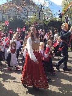 17 Maj Nationaldag i Drøbak Norge