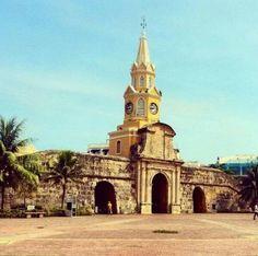 Puerta del reloj.. Cartagena