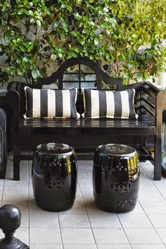 Black and White Patio Furniture . Black and White Patio Furniture .