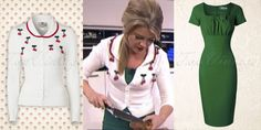 TV-cook Sandra Ysbrandy wore this sweet look in TV programme Life 4 You!