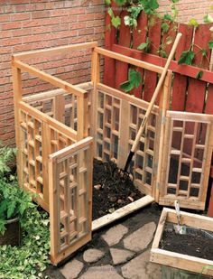 Compost Bin Design From DIY Projects For The Self Sufficient Homeowner: 25  Ways To Build A Self Reliant Lifestyle
