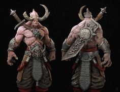 ArtStation - Demon warrior, Nu Eternity