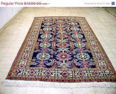 Item 2062,  Ardabili Persian Rug, 9'6 x 5'7