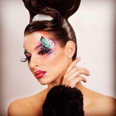Aqua fantasy makeup by me