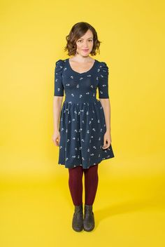 How to make an Agnes dress - Tilly and the Buttons