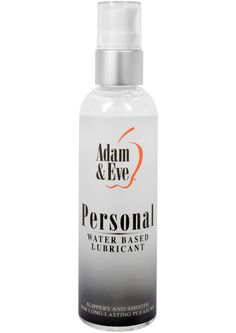 Buy Adam And Eve Personal Water Based Lubricant 4 Ounce online cheap. SALE! $11.49