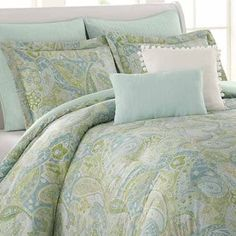 Shop for Soho New York Home Sea Glass 8-piece Cotton Comforter Set. Get free shipping at Overstock.com - Your Online Fashion Bedding Outlet Store! Get 5% in rewards with Club O! - 15817401