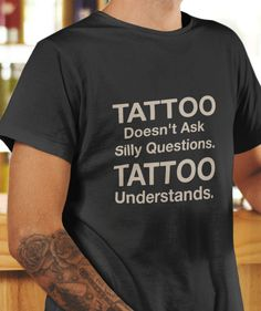 Sleeve tattoo and t-shirt about tattoos available for sale