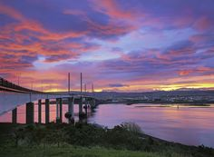 Kessock Bridge Inferno · Inverness © Ian Cameron