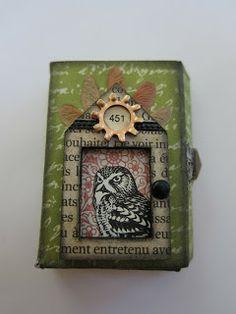 junk&stuff: altered matchbox