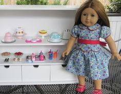 DIY Little Play Sweet Shop for 18 inch doll / American Girl Doll