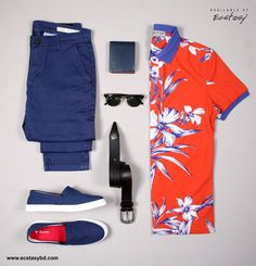 Printed Polo: Barcode- 466560780343 Price- 2683 BDT Tanjim Chinos: Barcode- 465560480303 Price- 1748 BDT Tanjim Plimsoll: Barcode- 466560830456 Price- 4025 BDT Tanjim Wallet: Barcode- 309570560214 Price- 1945 BDT Leather Belt: Barcode- 466560690216 Price- 3620 BDT SHOP ONLINE: WWW.ECSTASYBD.COM