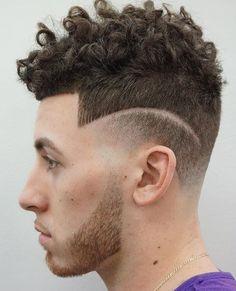 2018 Clean Line Up Haircuts for men - Medium Hair Styles Cool Short Hairstyles, Undercut Hairstyles, Popular Hairstyles, Hairstyles Haircuts, Haircuts For Men, Curly Undercut, Curly Haircuts, Hairstyles Pictures, Black Hairstyles