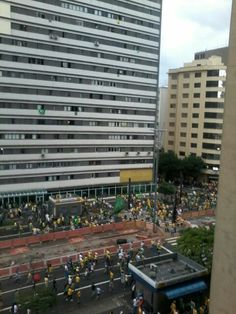 Passeata em Sao Paulo
