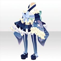 Model Outfits, Girl Outfits, Chibi, Anime Girl Dress, Cocoppa Play, Anime Hair, Drawing Clothes, Fashion Art, Fashion Design