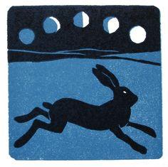 #Moon #Hare via @Brigitte Coleman Coleman Coleman Coleman Klawonn