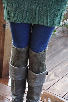 Ravelry: chesapeake's Convertible Boot Toppers