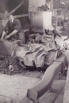 isaac button. in a day he could turn a ton of clay into pots - gives new meaning to the word industrious