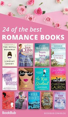 We love books with romance, so check out our list of 24 incredible romance books. Great for your 2018 or 2019 reading list. story books 24 Romance Books We Couldn't Put Down This Year Feel Good Books, Good Romance Books, Best Books To Read, Best Romantic Books, Love Stories To Read, Books To Read In Your 20s, Best Romance Novels, Books To Read For Women, Paranormal Romance