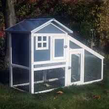 Our Windsor Chicken Coop Range Includes. Plastic and Wood Chicken Coop and Run. Inside The Coop. ✔ 1 x roosting perch inside the coop. ✔ External nest box, weather protector also prevents water dripping in. Rabbit Run, Rabbit Hutch And Run, Rabbit Hutches, Chicken Brands, Guinea Pig House, Guinea Pigs, Chicken Coop Run, Backyard Poultry, Backyard Chickens