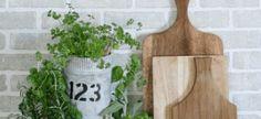 DIY Industrial Herb Garden