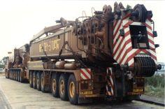 Hewden Stuart Gottwald AMK 500-93 Boom Carrier