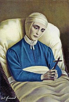 Blessed Anne Catherine Emmerich -- received the stigmata of our Lord's Passion.