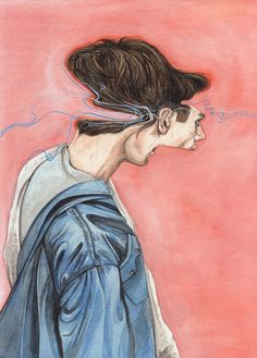 Gorgeous, Ethereally Deconstructed Portraits by Henrietta Harris