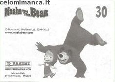 Masha and the bear - Masha e Orso: Retro Figurina n. 30 -