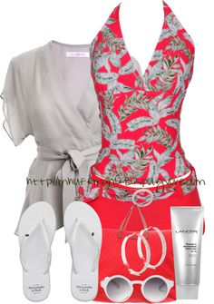 """Spring Break"" by mhuffman1282 ❤ liked on Polyvore"
