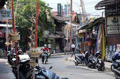 Gili Trawangan centre. photo: Dennis Faro