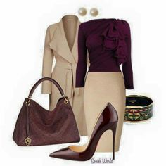 I love these earth tones. Perfect for fall.