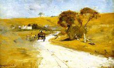 At Templestowe - Sir Arthur Streeton -1889