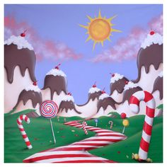 17 best candy land backgrounds images on pinterest candy land