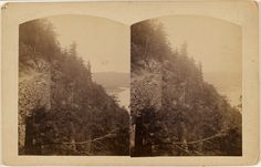 [View of Port Jervis, N.Y. or Dingman's Ferry, Pike Co. Pa.]; W.H. Allerton; about 1865 - 1875; Albumen silver; 84.XC.979.868; Gift of Weston J. and Mary M. Naef