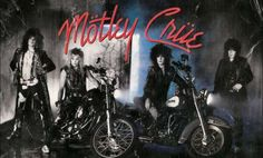 Motley Crue~ Girls ! Girls! Girls ! Album Cover ~ 1986