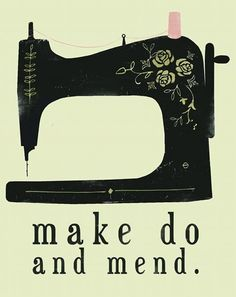 Wise sewing words.