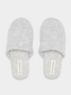 Cashmere Slippers - ACCESSORIES - White + Warren - White + Warren