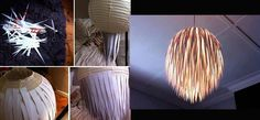 una idea para que tus lamparas luzcan diferentes